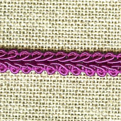 Interlacing braid, Orchid 89