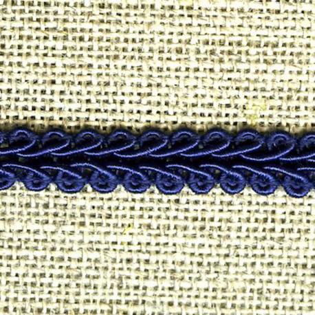 Interlacing braid, Night blue 23