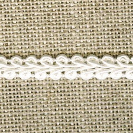 Interlacing braid, Ivory 51