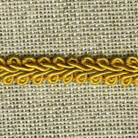 Interlacing braid, Old Gold 042