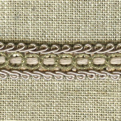 Interlacing braid Boudoir, col. Champagne / gold 77