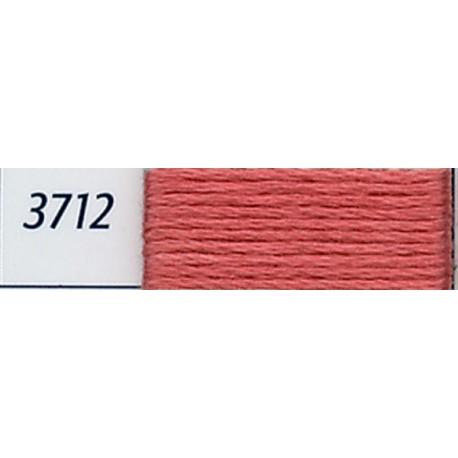 DMC mouliné embroidery thread, col. 3712