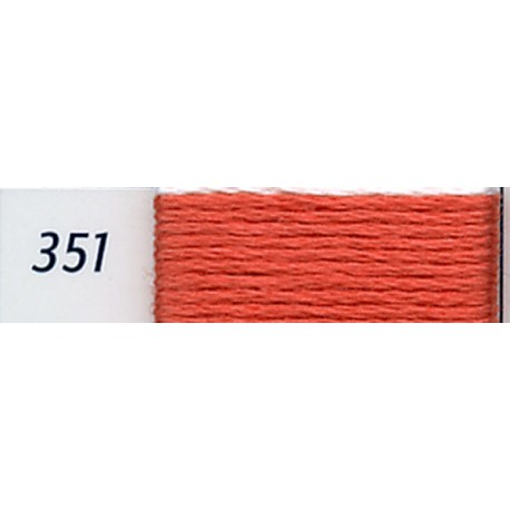 DMC mouliné embroidery thread, col. 351