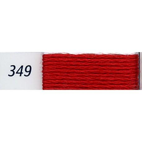 DMC mouliné embroidery thread, col. 349