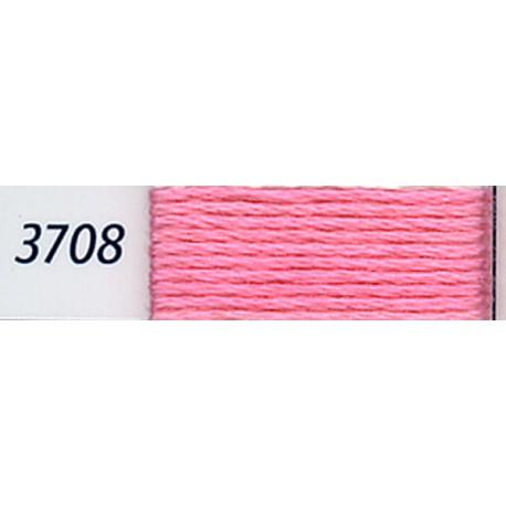 DMC mouliné embroidery thread, col. 3708