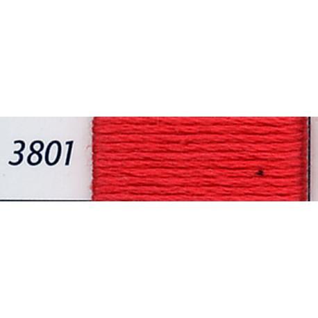 DMC mouliné embroidery thread, col. 3801