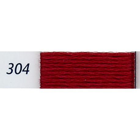 DMC mouliné embroidery thread, col. 304