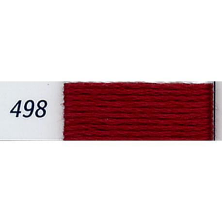 DMC mouliné embroidery thread, col. 498