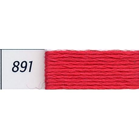 DMC mouliné embroidery thread, col. 891