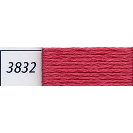 DMC mouliné embroidery thread, col. 3832
