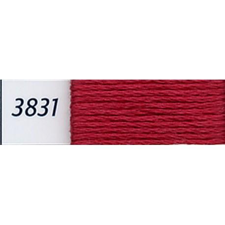 DMC mouliné embroidery thread, col. 3831