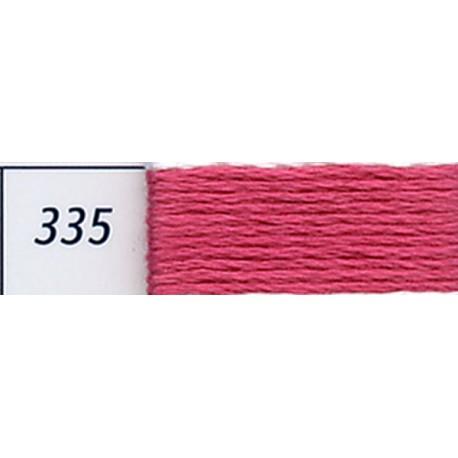 DMC mouliné embroidery thread, col. 335