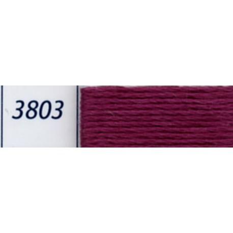Fil à broder Mouliné DMC, col. 3803