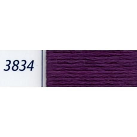 DMC mouliné embroidery thread, col. 3834