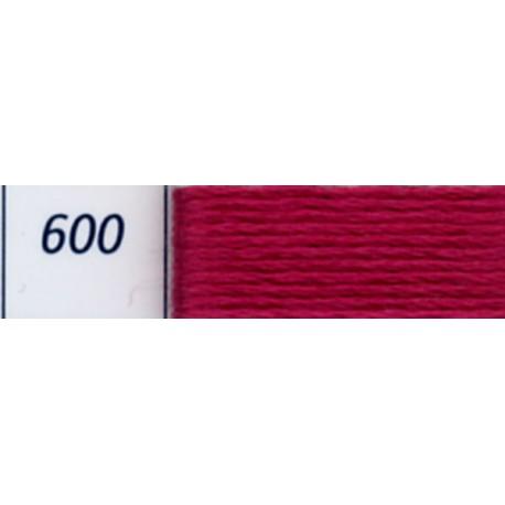 Fil à broder Mouliné DMC, col. 600