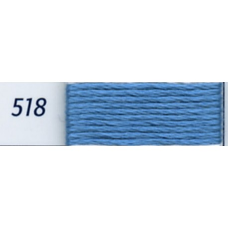 DMC mouliné embroidery thread, col. 518