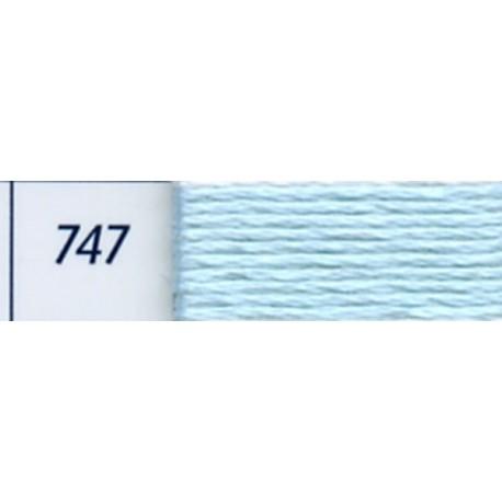 DMC mouliné embroidery thread, col. 747