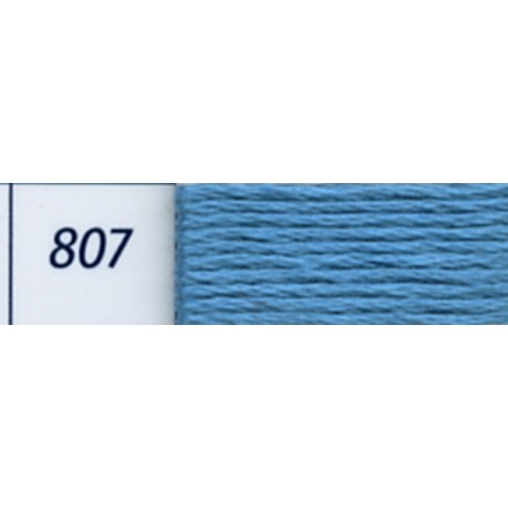 DMC mouliné embroidery thread, col. 807