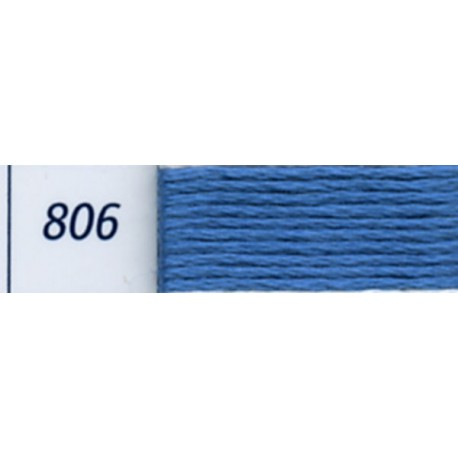 DMC mouliné embroidery thread, col. 806