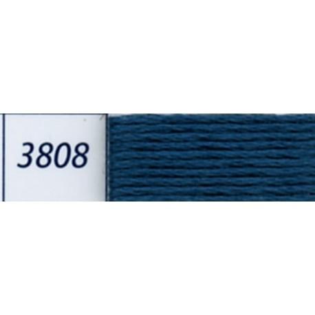 DMC mouliné embroidery thread, col. 3808