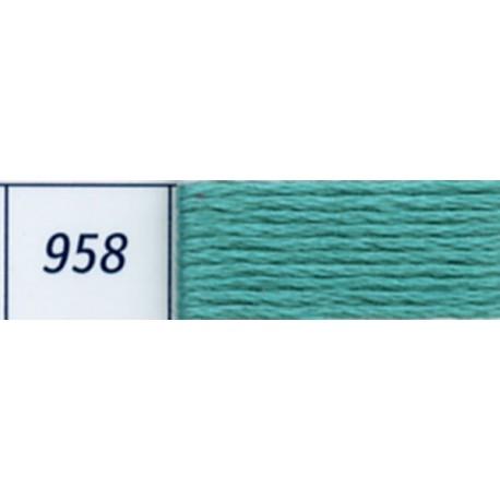 DMC mouliné embroidery thread, col. 958