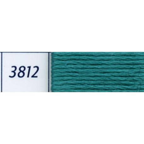 DMC mouliné embroidery thread, col. 3812
