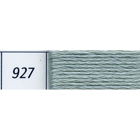 DMC mouliné embroidery thread, col. 927