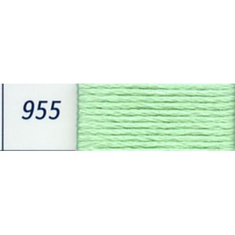 DMC mouliné embroidery thread, col. 955