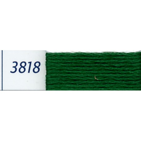 DMC mouliné embroidery thread, col. 3818