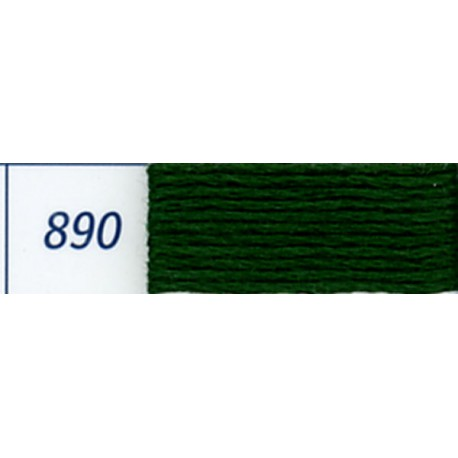 DMC mouliné embroidery thread, col. 890
