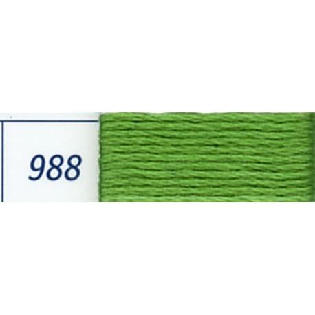 DMC mouliné embroidery thread, col. 988