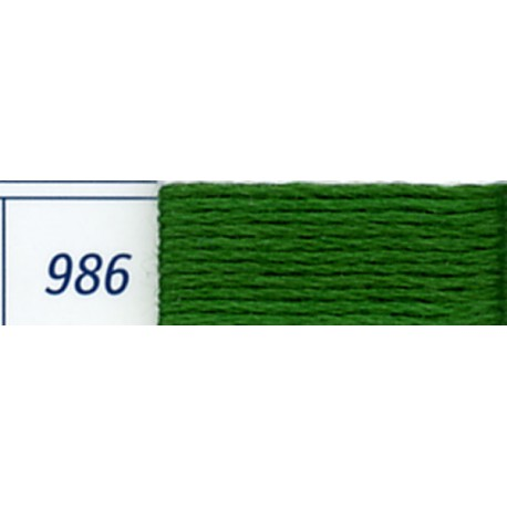 DMC mouliné embroidery thread, col. 986