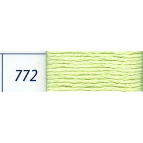 DMC mouliné embroidery thread, col. 772