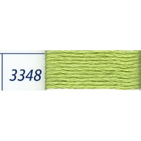 DMC mouliné embroidery thread, col. 3348