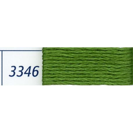 DMC mouliné embroidery thread, col. 3346