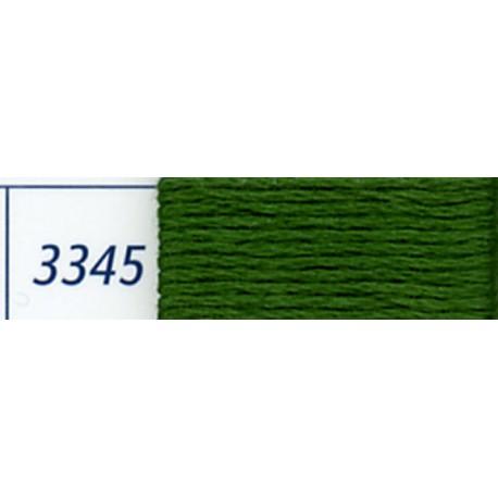 DMC mouliné embroidery thread, col. 3345