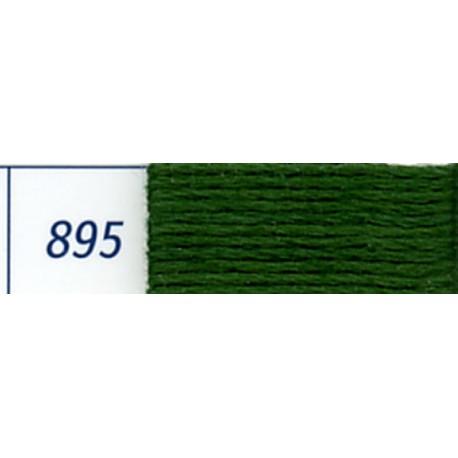 DMC mouliné embroidery thread, col. 895