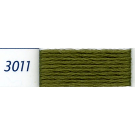 DMC mouliné embroidery thread, col. 3011