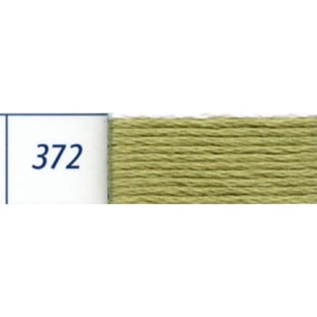 DMC mouliné embroidery thread, col. 372