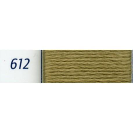 DMC mouliné embroidery thread, col. 612