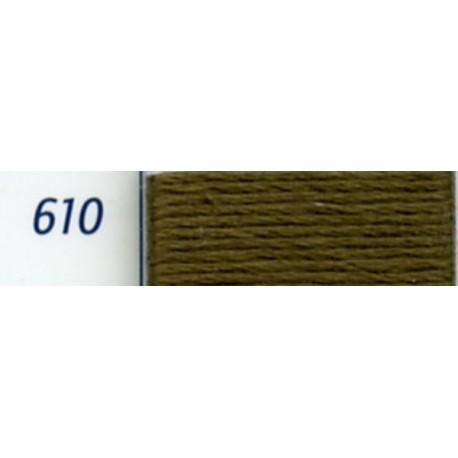 DMC mouliné embroidery thread, col. 610