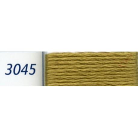 Fil à broder Mouliné DMC, col. 3045