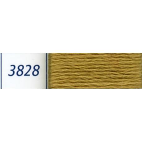 DMC mouliné embroidery thread, col. 3828
