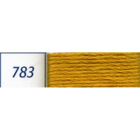 DMC mouliné embroidery thread, col. 783