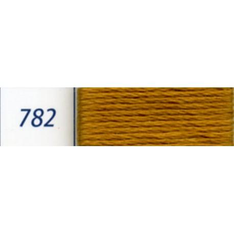 DMC mouliné embroidery thread, col. 782
