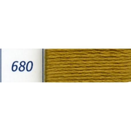 DMC mouliné embroidery thread, col. 680