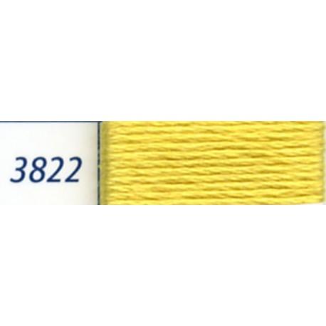 DMC mouliné embroidery thread, col. 3822