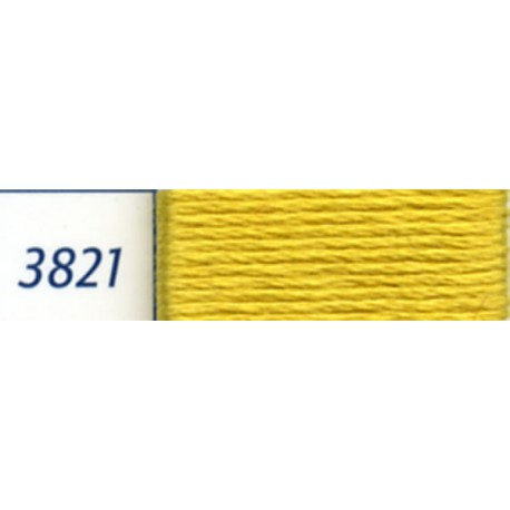 DMC mouliné embroidery thread, col. 3821