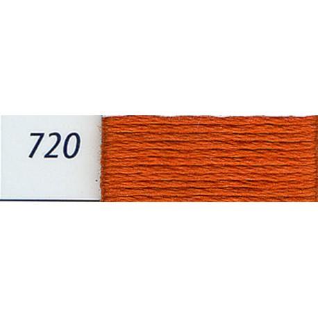 DMC mouliné embroidery thread, col. 720