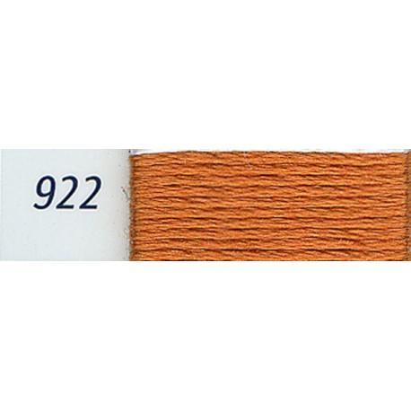 DMC mouliné embroidery thread, col. 922